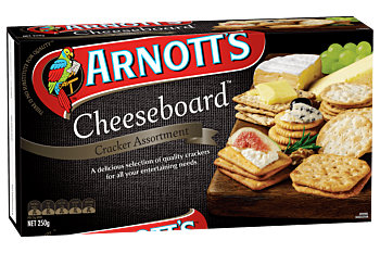 12 x Arnotts Biscuits Cheeseboard 250G