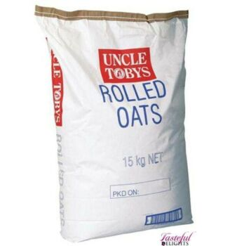Uncle Toby's Oats Rolled 15Kg