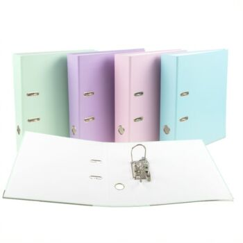 Binder Lever Arch 2 Ring A4 Assorted Coloursours