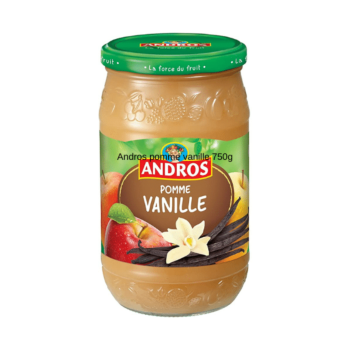 Andros Apple & Vanilla Compote 750g
