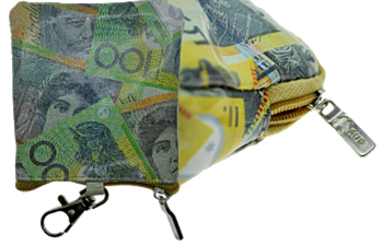 Australian Currency Keyring Coin Purses