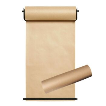 Butchers Paper Wall Mounted Roll Holder 140m x 2 rolls - 1