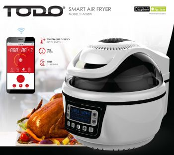 TODO Smart Air Fryer 10L Electric Convection Oven Android Iphone App Control