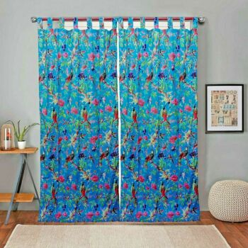 Frida Kahlo boho curtains, eclectic curtains, Frida curtains, boho decor, boho curtain panels, boho home decor TWO PANELS, Christmas gift