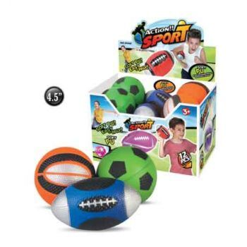 Soft Action Sports Balls assorted ( ONLY SOLD in Display of 12 )