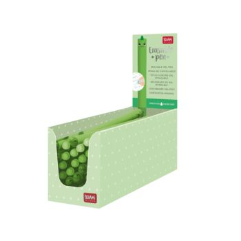 Erasable Pen - Dino - Green Ink - Display Pack of 30 Pieces