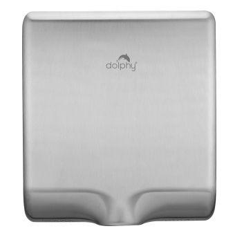 Dolphy Automatic Stainless Steel Hand Dryer 1000W - Silver