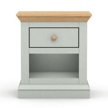 Cosmoliving Bedside Table H58xW51cm Cottage Style W/Drawers