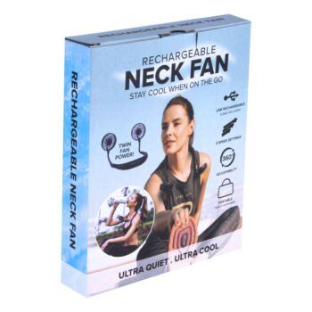 Sports Fan Hanging USB Charging Travel Creative Neck Tool Portable 3 Speeds