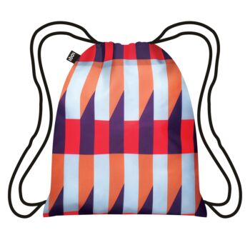 LOQI : Backpack Geometric Collection - Stripes