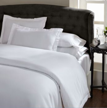 Ddecor Home 1000 Thread Count Quilt Cover Set Cotton Blend Classic Hotel Style
