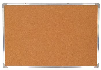 Corkboard with Wooden Frame 40 x 60cm