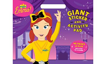 The Wiggles Emma!: Giant Sticker Activity Pad