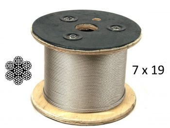 1.6mm 7x19 G316 Stainless Steel Wire Rope