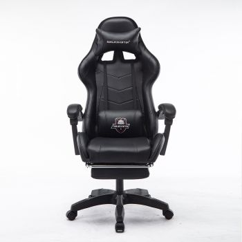 Mason Taylor Gaming Office Chair Home Computer Chairs Racing PVC Leather Seat Black