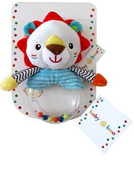 Lion Baby Soft Toy Rattle - 14CM