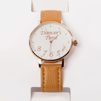 Mad Ally Dancer's Watch Tan