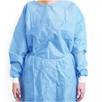 Gown MGuard SMS Blue AAMI Level 1 Protection (Box of 50)