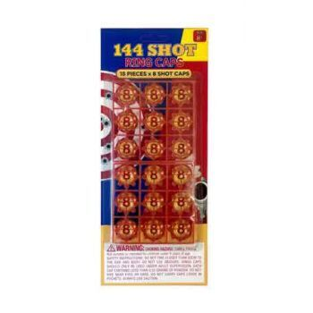 8 Shot Ring Caps - 144 Shots ( ONLY SOLD in Carton of 24 )