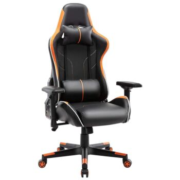 Gaming Chair High Back PU Leather Racing Office Computer Chair Ergonomic Chair with Headrest and Lumbar Support