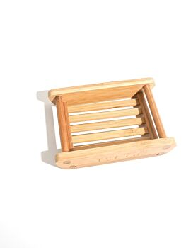 Bamboo Soap Dish - One