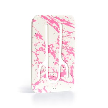 Flexistand - Plastic Phone Stand - Pink Marble