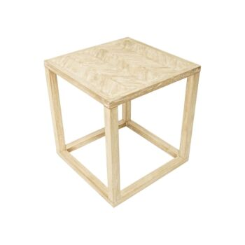 CTR Imports Holmes Side Table-Whitewash