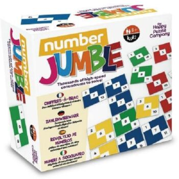 The Happy Puzzle Company Number Jumble Board Game