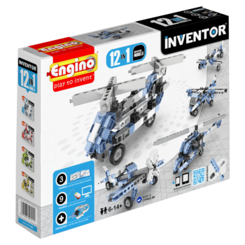 Inventor 12 Models Aircrafts | By  Engino