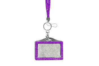Mad Ally Bling Lanyard- Purple