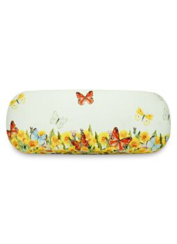 Beautiful Cloth Covered & Lined Glasses Case Spring Party
