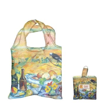 Eco Foldable Shopping Bag - Isolation Picnic by Christine Read