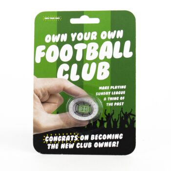 Own Your Own Football Club