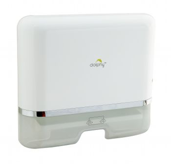 Dolphy Paper Towel Dispenser - Silver