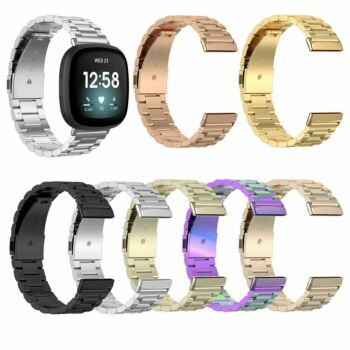 Stainless Steel Watch Strap Belt Wristband Band for Fitbit Versa 3 Fitbit sense