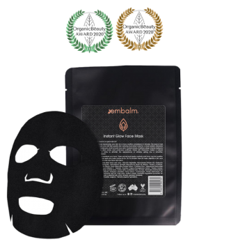 Embalm Skincare Instant Glow Face Mask (1 piece)