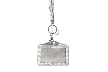 Mad Ally Bling Lanyard- Silver