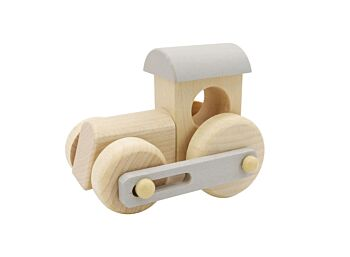 PRICE FOR 4 CALM & BREEZY WOODEN TRAIN ENGINE