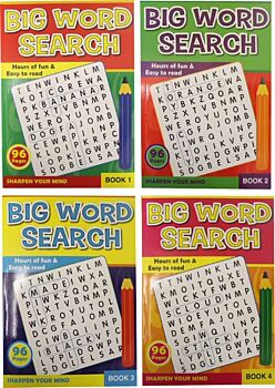 96pg Wordsearch A4