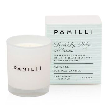 Italia Natural Soy Candle - Fig Melon & Coconut