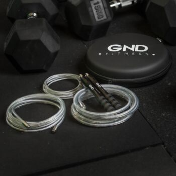 GND Fitness Weighted Skipping Rope // Charcoal