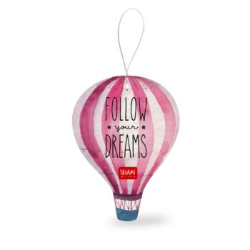Car Air Freshener - Display Pack of 12 Pieces - Follow Your Dreams