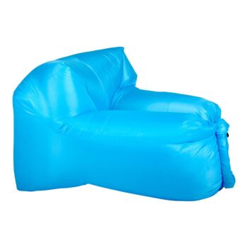 Inflatable Air Lounger for Beach Camping Festival Outdoor Lazy Lounge Chair