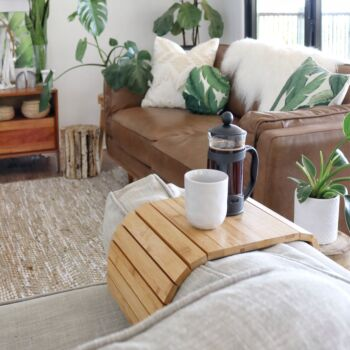 Couchmate | The Bamboo Multi-Fit Couch Sofa Arm Table