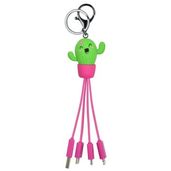 Link Up - Multiple Charging Cable - Cactus