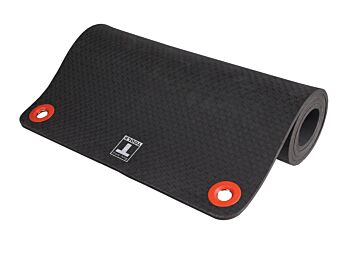 Body-Solid Tools Foam Hanging Exercise Mat Black