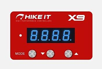 Red Faceplate for HIKEit X9 i Electronic Drive Throttle Pedal Accelerator Controller