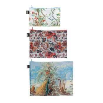 LOQI : Zip Pocket (set of 3) Museum Collection - Brazil
