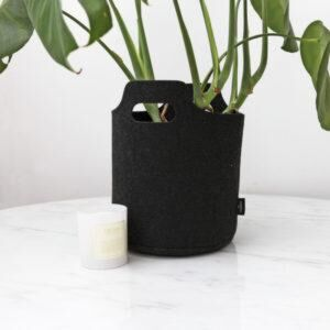 THE JOINERY | Planter Basket - Charcoal