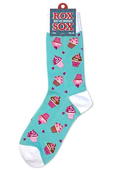Rox Pink Cup Cakes Socks